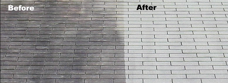 B&A Cleaning Shingles Baltimore Power Wash