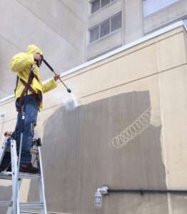 Power Washing Commercial Property Baltimore MD-min